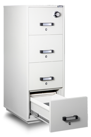 FRD(2)41 Fire Resistant Filing Cabinet Front View