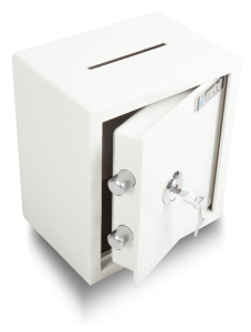 SN25D Cash Deposit Safe Front View